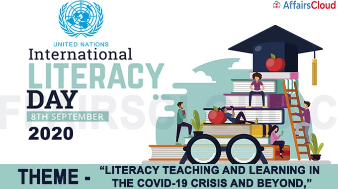 International Literacy Day - September 8 2020
