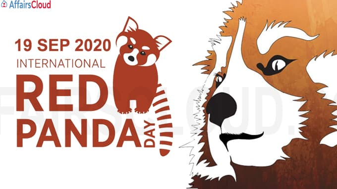 International Red Panda Day - September 19 2020