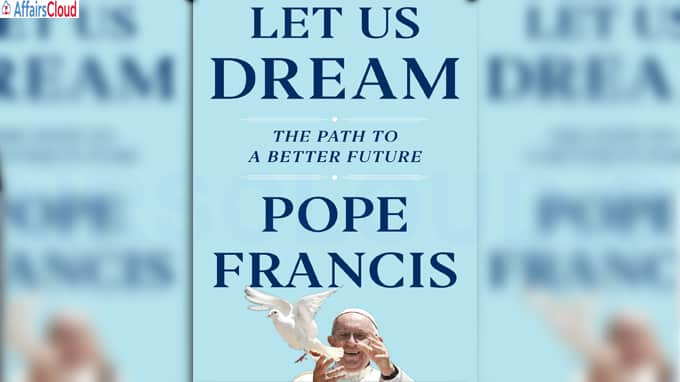 Let Us Dream' a book by Pope Francis