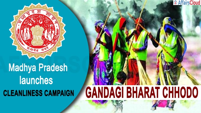 Madhya Pradesh govt launches campaign 'Gandagi Bharat Chhodo'