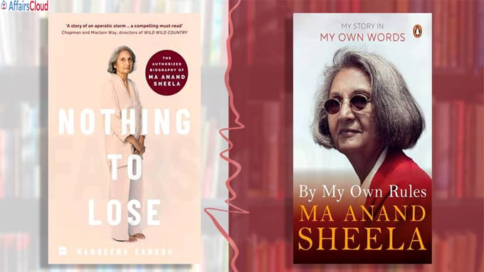 Memoir to authorised biography Two books on Ma Anand Sheela