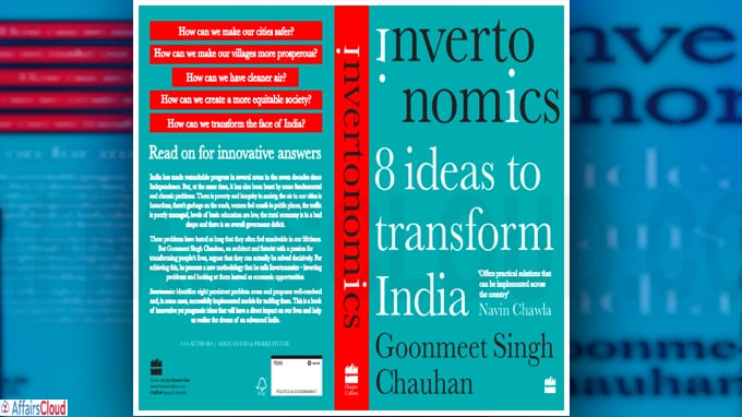 Mr Goonmeet Singh Chauhan's New Book 'Invertonomics'