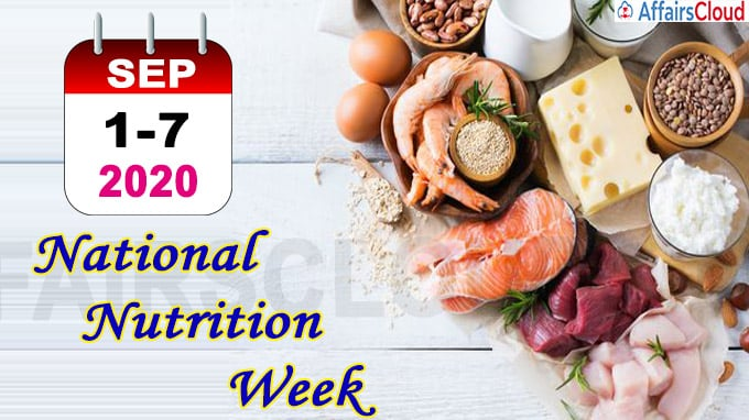 National Nutrition Week- September