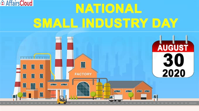 National Small Industry Day - August 30 2020