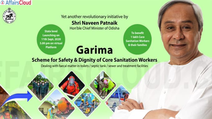 Odisha Govt launches GARIMA