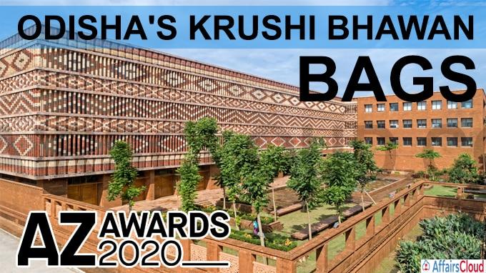 Odisha's-Krushi-Bhawan-bags-'AZ-Award-2020'