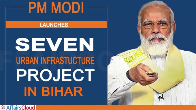 PM Modi inaugurates & lays foundation stones for seven projects