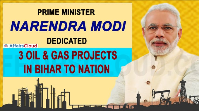 PM dedicates three key petroleum projects