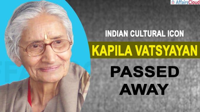 Padma vibhushan awardee, Kapila Vatsyayan passes away at 91