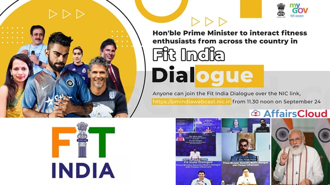 Prime-Minister's-address-Fit-India-Dialogue-and-launched-Age-Appropriate-Fitness-Protocols-on-the-first-anniversary-of-Fit-India-Movement