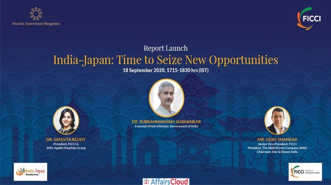 Report 'India-Japan Time to Seize New