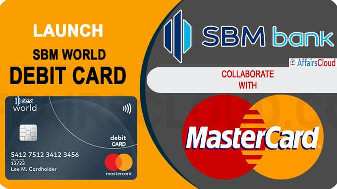 SBM Bank India collaborated with Mastercard