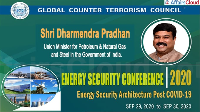 Shri Dharmendra Pradhan Addressed GCTC Energy Security Conference 2020'