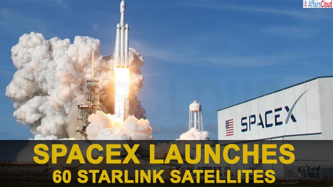 SpaceX launches 60 Starlink satellites, inches closer to faster internet