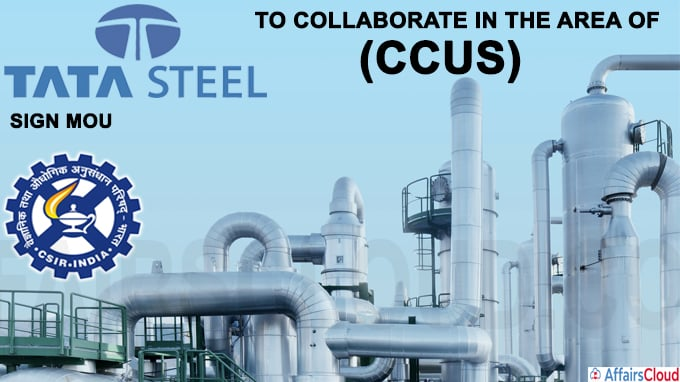Tata Steel and Council of Scientific & Industrial Research