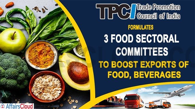 Three committees set up to suggest ways to boost exports of food