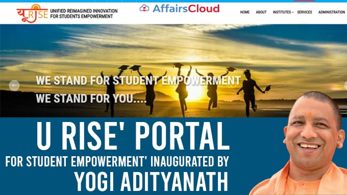 U-Rise'-portal-for-Student-Empowerment'-inaugurated-by-UP-CM-Yogi-Adityanath