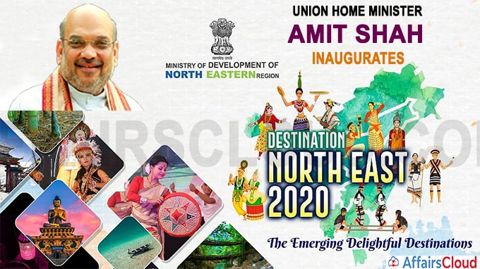 Union Home Minister Amit Shah inaugurates the Destination North East-2020 Festival