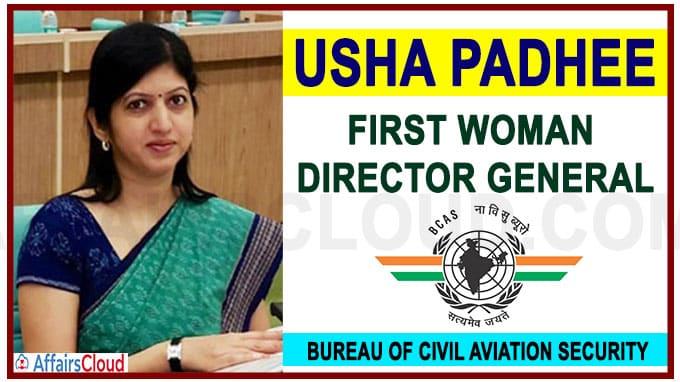 Usha Padhee becomes first woman DG