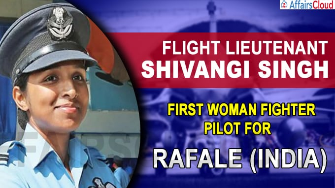 Varanasi's Shivangi Singh set to become India's first woman fighter pilot to fly Rafale