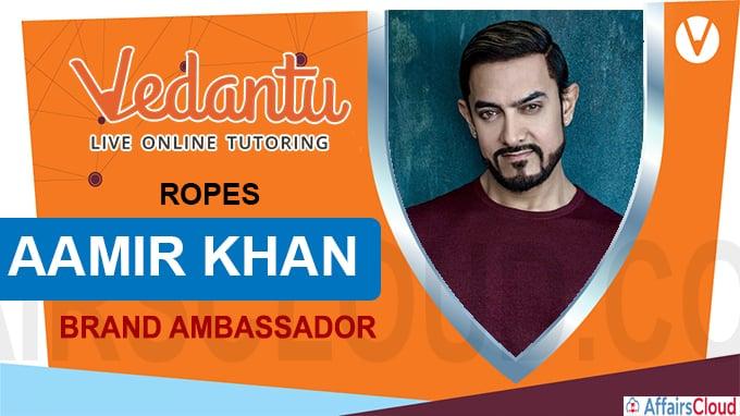 Vedantu ropes in Aamir Khan as ambassador