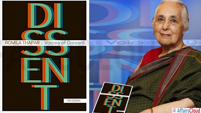 Voices of Dissent by Romila Thapar