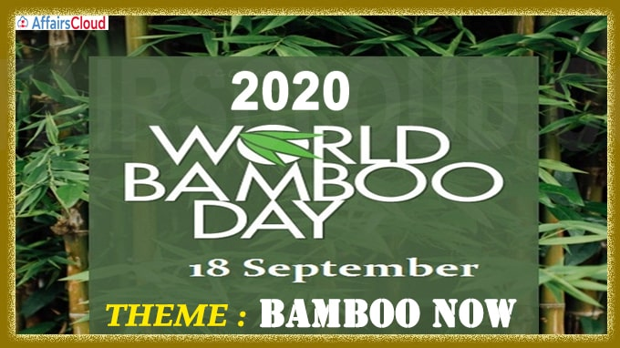 World Bamboo Day - September 18 2020