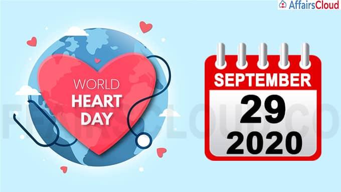 World Heart Day 2020September 29