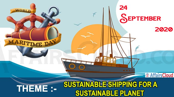World Maritime Day - September 24 2020