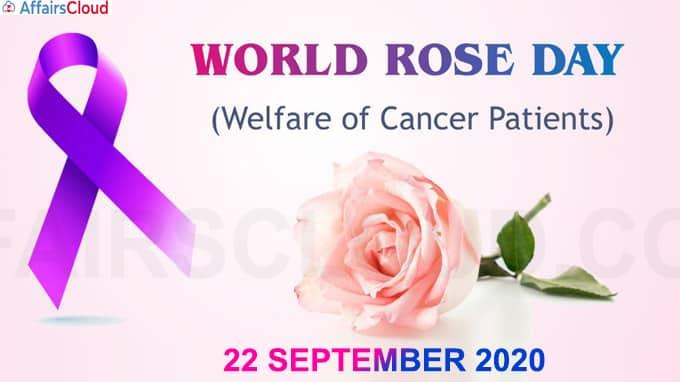 World Rose Day - September 22 2020 (1)