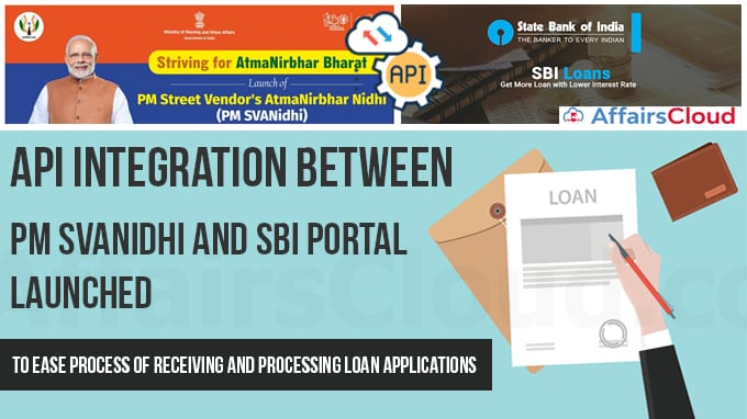 API-integration-between-PM-SVANidhi-and-SBI-portal-launched