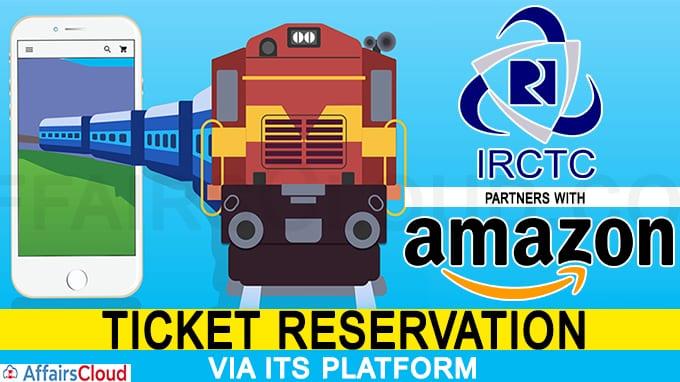 Amazon partners with IRCTC