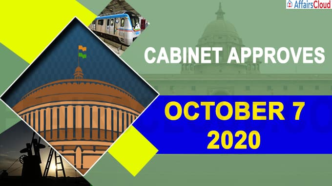 Cabinet approves october 7 2020