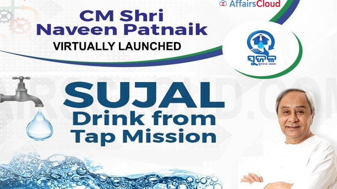 Chief Minister Naveen Patnaik virtually launched the 'Sujal- Drink from Tap Mission'
