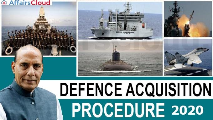 Defence Acquisition Procedure 2020
