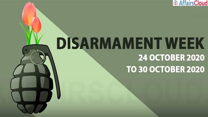 Disarmament Week 2020