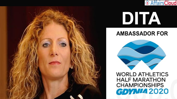 Dita-named-ambassador-for-World-Athletics-Half-Marathon-Championships-Gdynia-2020