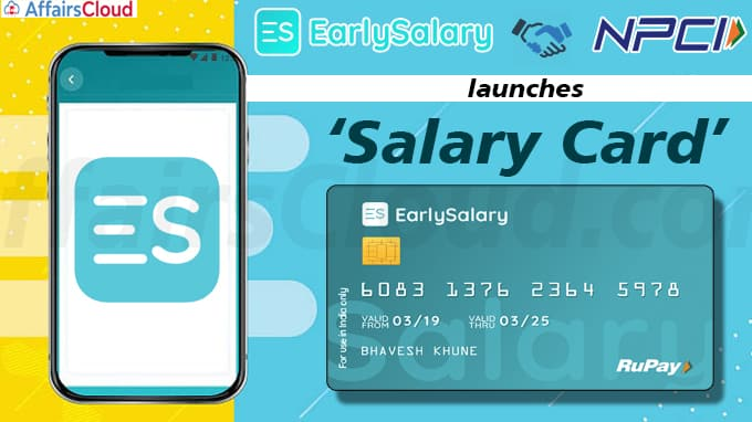 EarlySalary launches 'Salary Card' new