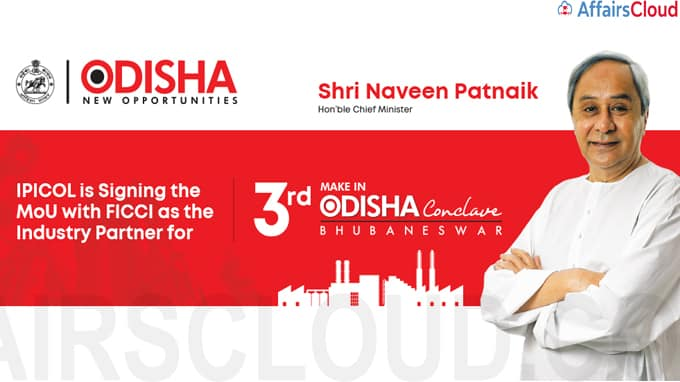 FICCI to be national industry partner of third edition of 'Make in Odisha' conclave