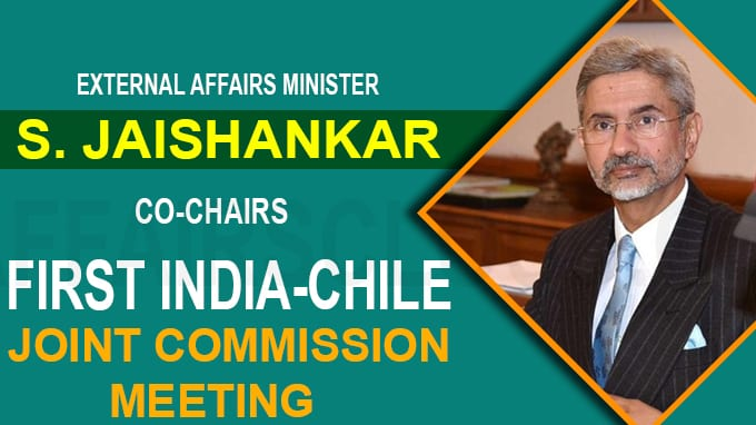 First India-Chile Joint Commission Meeting