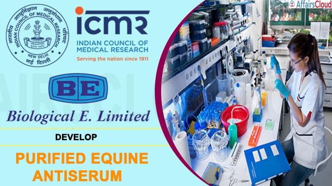 ICMR, Biological E develop purified equine antiserum