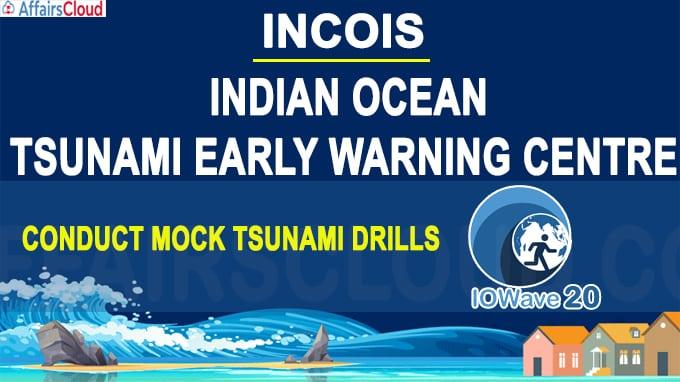 INCOIS, Indian Ocean Tsunami Early Warning Centre conduct mock tsunami drills