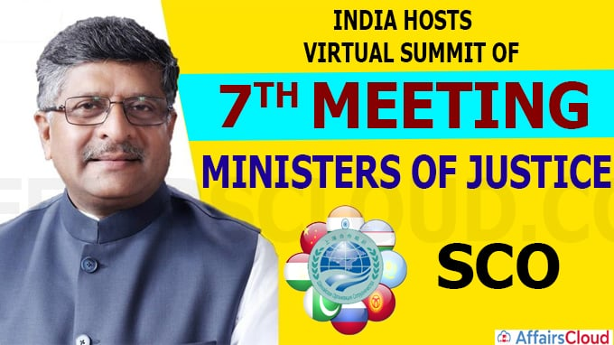 India Hosts Virtual Summit of Seventh Meeting of Ministers of Justice