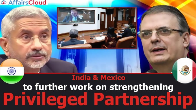 India-&-Mexico-to-further-work-on-strengthening-Privileged-Partnership