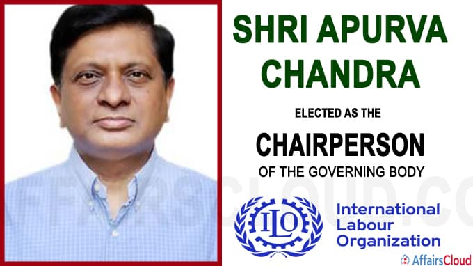India assumes the Chairmanship of the Governing Body