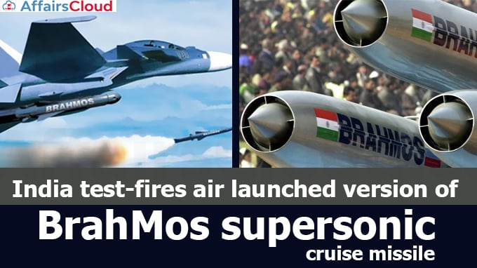 India-test-fires-air-launched-version-of-BrahMos-supersonic-cruise-missile