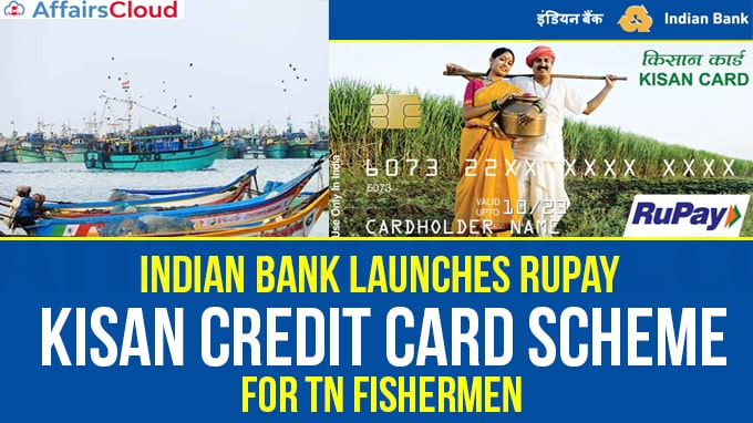 Indian-Bank-launches-Rupay-Kisan-credit-card-scheme-for-TN-fishermen
