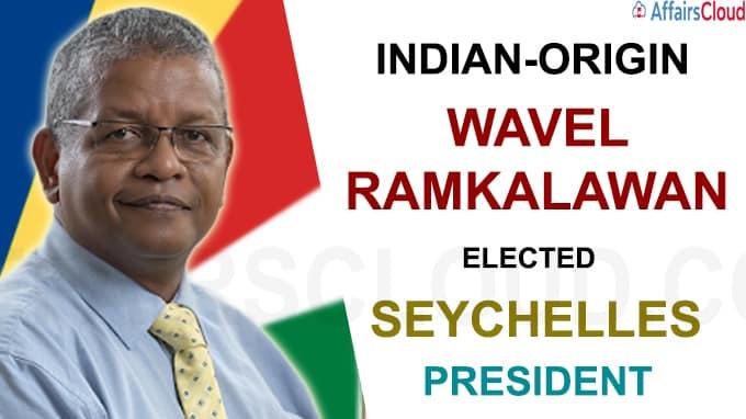 Indian-origin Wavel Ramkalawan is elected Seychelles President