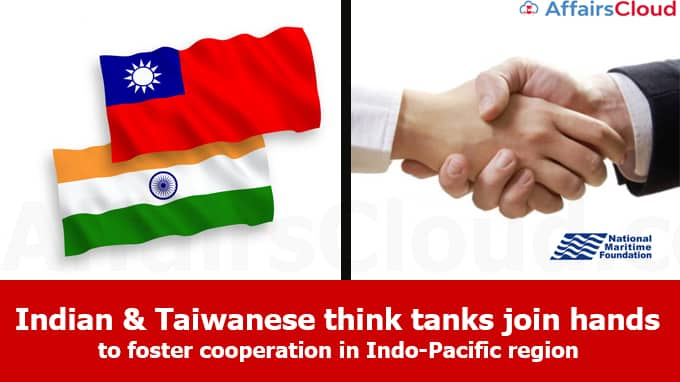 Indian,Taiwanese-think-tanks-join-hands-to-foster-cooperation-in-Indo-Pacific-region