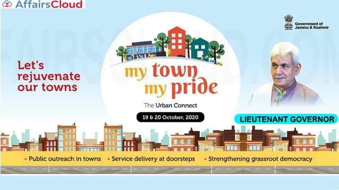 J&K L-G announces My Town My Pride programme